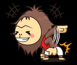 OrangUtan Sticker 21