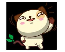 Panda Pas naljepnica 5