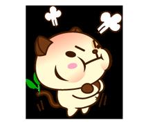 Panda Pas naljepnica 16