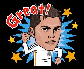 Real Madrid FC Sticker 2