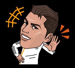 Real Madrid FC Sticker 3