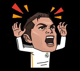 Real Madrid FC Sticker 4