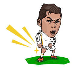Real Madrid FC Sticker 5