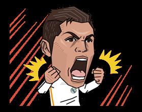 Real Madrid FC Sticker 6