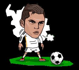 Real Madrid FC Sticker 7