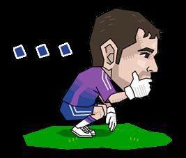 Real Madrid FC Sticker 9