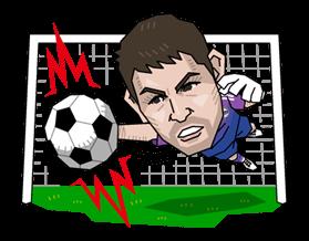 Real Madrid FC Sticker 16