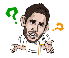Real Madrid FC Sticker 17