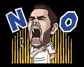 Real Madrid FC Sticker 19
