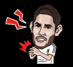 Real Madrid FC Sticker 20