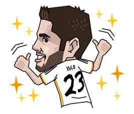Real Madrid FC Sticker 21