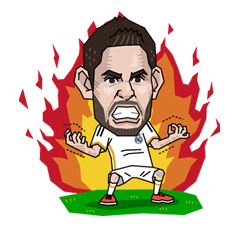 Real Madrid FC Sticker 22
