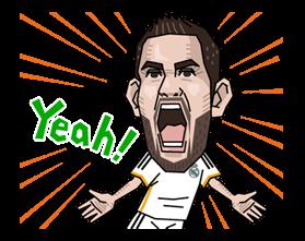 Real Madrid FC Sticker 23