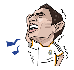 Real Madrid FC Sticker 26