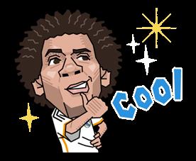 Real Madrid FC Sticker 36