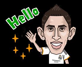 Real Madrid Офіційний стікер 9