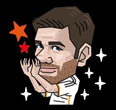 Real Madrid Офіційний стікер 10