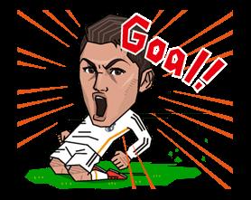 Real Madrid Офіційний стікер 15