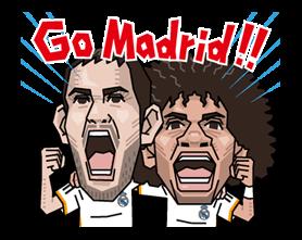 Real Madrid Офіційний стікер 16