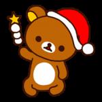Rilakkuma Χριστούγεννα Πρωτοχρονιά αυτοκόλλητο 13