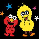 Sesame Street Dia feliz adesivos 27