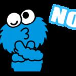 Sesame Street Dia feliz adesivos 30