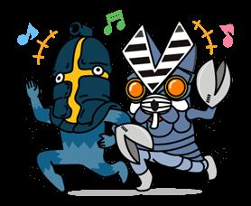 ULTRAMAN Heroes & Monsters Sticker 22