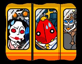 ULTRAMAN Heroes & Monsters Sticker 39