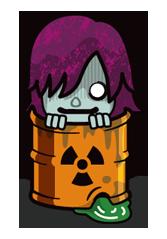 Zombie Season Sticker 2