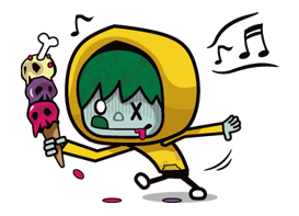 Zombie Season Sticker 5