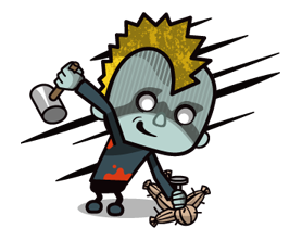 Zombie Season Sticker 12