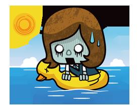 Zombie Season Sticker 16
