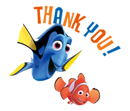 Finding Nemo Sticker 2