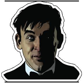 Gotham On FOX Stickers 10