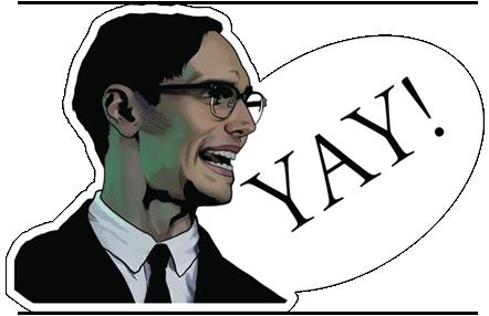 Gotham On FOX Stickers 13