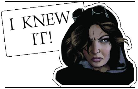 Gotham On FOX Stickers 17