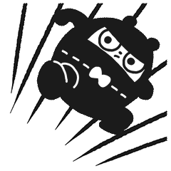 Ninja Bear Stickers 1