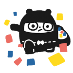 Ninja Bear Stickers 5