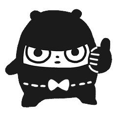 Ninja Bear Stickers 8
