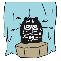 Ninja Bear Stickers 11