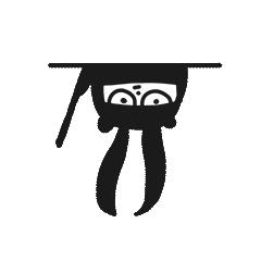 Ninja Bear Stickers 18