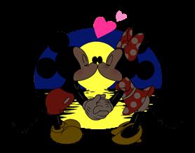 Lijep Mickey i Minnie Naljepnice 16