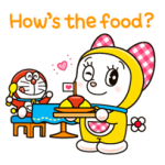 Dorami Stickers 1