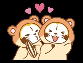 ANIMAL☆RASCAL Stickers 1