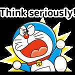 Doraemon: Citate Abțibilduri 1