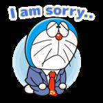 Doraemon på jobb Klistermärken 1