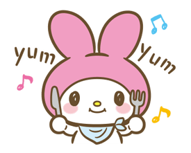 My Melody: Sweet as Can Be! Stickers 5