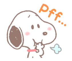 Lovely Snoopy Stickers 2 1