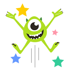 Monsters, Inc. Stickers 1