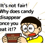 Doraemon's Adages Stickers 1